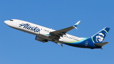 N592AS - Boeing 737-890 - Alaska Airlines