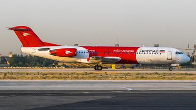 EP-FQG - Fokker 100 - Qeshm Air