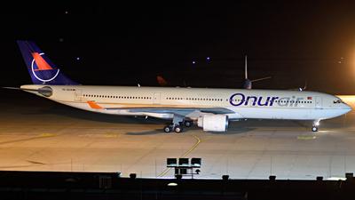 TC-OCA - Airbus A330-321 - Onur Air