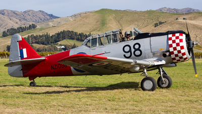ZK-ENJ - North American AT-6D Harvard III - Private