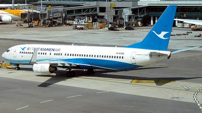 A picture of B5355 - Boeing 7378FH - Xiamen Air - © Christian Wong