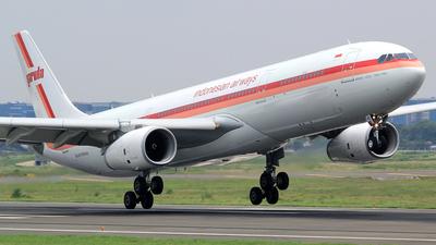 PK-GHD - Airbus A330-343 - Garuda Indonesia