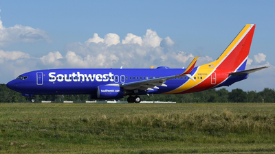 A picture of N8550Q - Boeing 7378H4 - Southwest Airlines - © DJ Reed - OPShots Photo Team