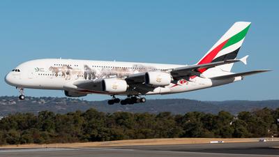 A6-EEQ - Airbus A380-861 - Emirates