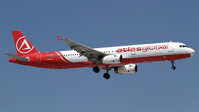 A picture of TCETF - Airbus A321231 - AtlasGlobal - © Peter Cook