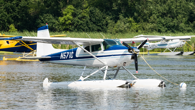 A picture of N571C - Cessna 180A - [32785] - © Andrew Lesty