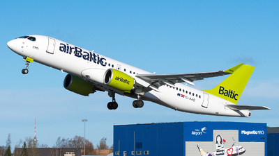 A picture of YLAAQ - Airbus A220300 - Air Baltic - © Jevgeni Ivanov