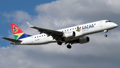 ZS-YAP - Embraer 190-100IGW - Airlink