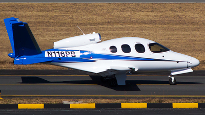 N116PB - Cirrus Vision SF50 G2 - Cirrus Design Corporation