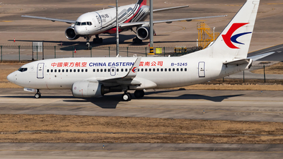 A picture of B5245 - Boeing 73779P - China Eastern Airlines - © SnowMiku39