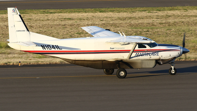 A picture of N1041L - Cessna 208B Super Cargomaster - Martinaire - © Jeroen Stroes
