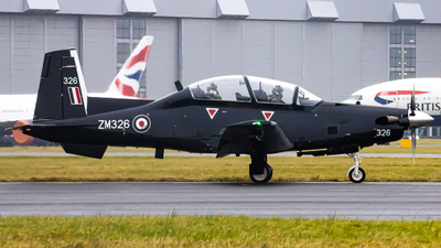 ZM326 - Raytheon T-6C Texan T1 - United Kingdom - Royal Air Force (RAF)
