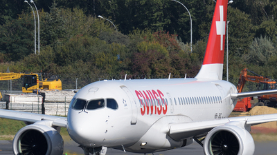 A picture of HBJBC - Airbus A220100 - Swiss - © Tom Mousel
