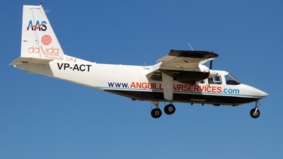 VP-ACT - Britten-Norman BN-2B-20 Islander - Anguilla Air Services