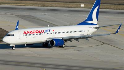 TC-JFP - Boeing 737-8F2 - AnadoluJet
