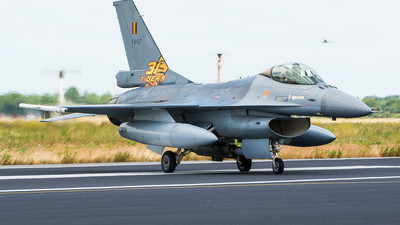 FA-107 - General Dynamics F-16AM Fighting Falcon - Belgium - Air Force