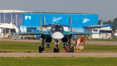 RF-95845 - Sukhoi Su-34 Fullback - Russia - Air Force