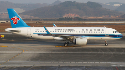 A picture of B30F8 - Airbus A320251N - China Southern Airlines - © SEN BAI