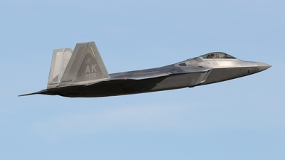 07-4138 - Lockheed Martin F-22A Raptor - United States - US Air Force (USAF)