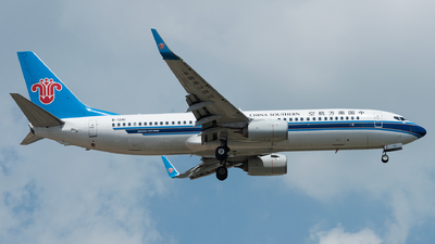 A picture of B1241 - Boeing 73781B - China Southern Airlines - © xuhaoqing995