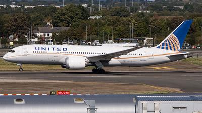 A picture of N27903 - Boeing 7878 Dreamliner - United Airlines - © Ervin Eslami | UK Jets