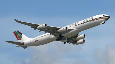 A4O-LF - Airbus A340-312 - Gulf Air