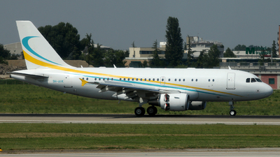 9H-AVK - Airbus A319-115(CJ) - Comlux Aviation Malta