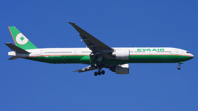 B-16723 - Boeing 777-36NER - Eva Air