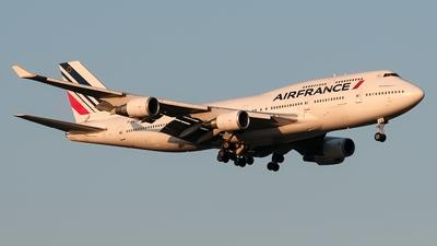F-GEXB - Boeing 747-4B3(M)  - Air France