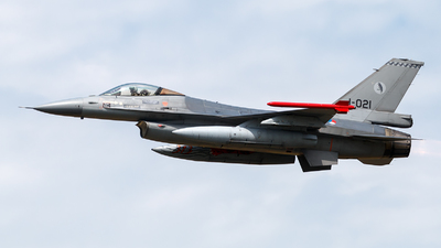J-021 - General Dynamics F-16AM Fighting Falcon - Netherlands - Royal Air Force