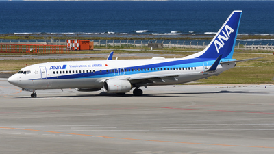 A picture of JA68AN - Boeing 737881 - All Nippon Airways - © HIroki Manabe