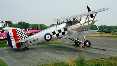 OO-HFU - Hawker Fury I - Private