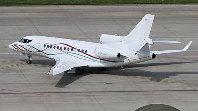OO-IDY - Dassault Falcon 7X - Private