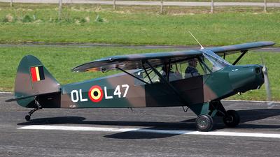 OO-SPG - Piper PA-18-95 Super Cub - Aero Club - Brasschaat
