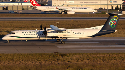 SX-OBD - Bombardier Dash 8-Q402 - Olympic Air