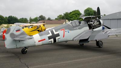 D-FWME - Messerschmitt Bf 109G-4 - Flugmuseum Messerschmitt