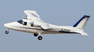 A picture of JA203H - Vulcanair P.68CTC - [47248/TC] - © jaga