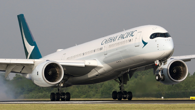B-LRQ - Airbus A350-941 - Cathay Pacific Airways