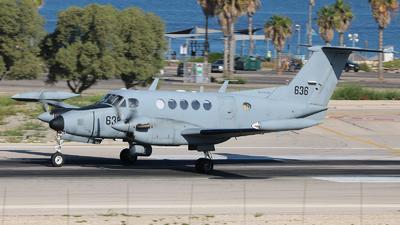 636 - Beechcraft B200T Zufit 2 - Israel - Air Force