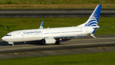 HP-1824CMP - Boeing 737-86N - Copa Airlines