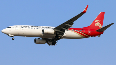 A picture of B1376 - Boeing 73787L - Shenzhen Airlines - © Tongjun XIANG