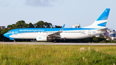 LV-GUC - Boeing 737-8SH - Aerolíneas Argentinas