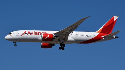 A picture of N795AV - Boeing 7878 Dreamliner - Avianca - © Tiago Deivid
