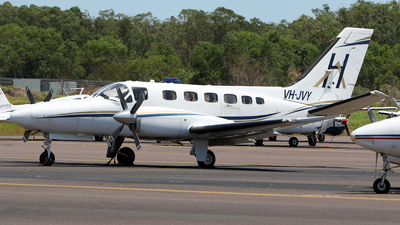 VH-JVY - Cessna 441 Conquest II - Hardy Aviation