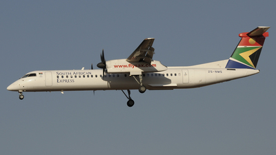ZS-NMS - Bombardier Dash 8-Q402 - SA Express