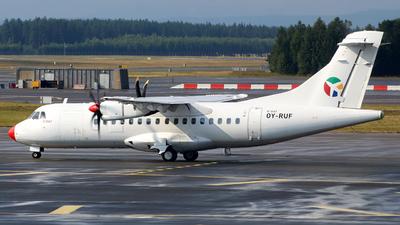 A picture of OYRUF - ATR 42500 - DAT - © Wiktor Konrad Kepinski