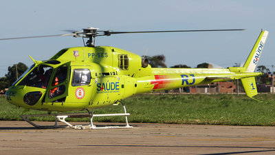 PP-SES - Eurocopter AS 355NP Ecureuil 2 - Brazil - Military Firefighters