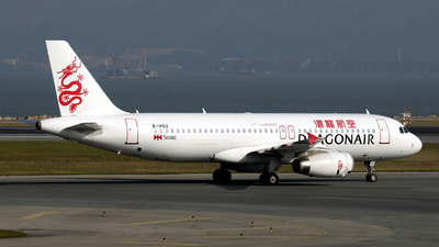 B-HSU - Airbus A320-232 - Cathay Dragon