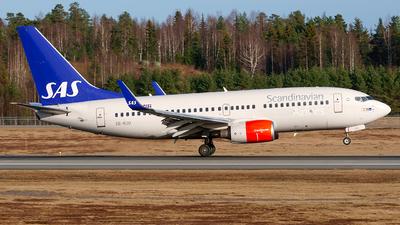 A picture of SERJU - Boeing 73776N - SAS - © Laszlo Fekete
