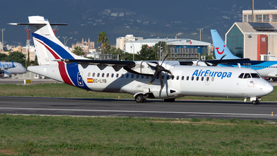 EC-LYB - ATR 72-212A(500) - Air Europa (Swiftair)